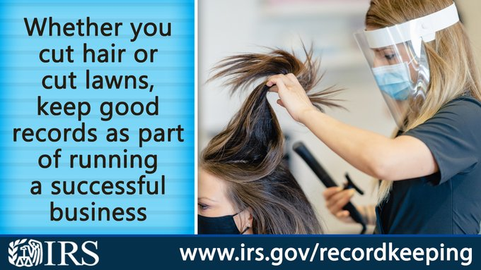 IRS Record Keeping